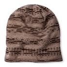 Women's Distressed Jersey Knit Beanie