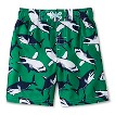 Boys' Shark Swim Trunks