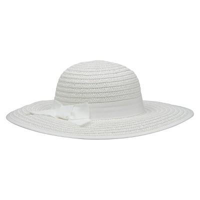 Infant Toddler Girls Floppy Sun Hat White