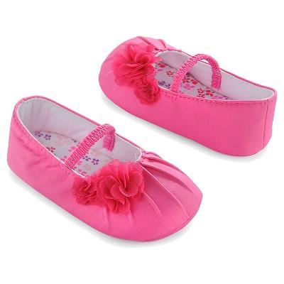 Newborn Girls' Ballet Flats - Pink 0-3 M