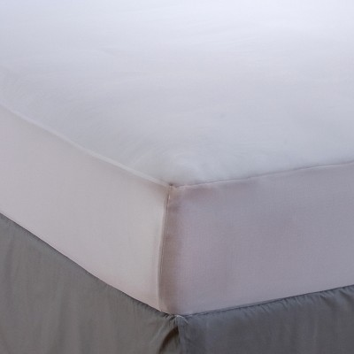 Sealy Stain Protection Fitted Mattress Protector - White (Full)