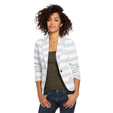 Women's Striped Tailored Blazer Merona®