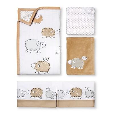 Circo™ 4pc Crib Bedding Set - Sheep & Co.