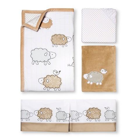 Circo™ 4pc Crib Bedding Set - Sheep & Co. : Target
