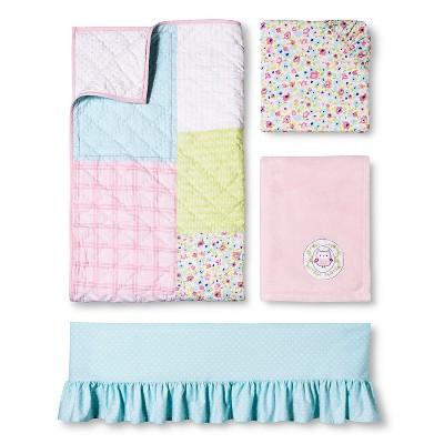 Circo™ 4pc Crib Bedding Set - Garden Patchwork