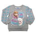 Disney® Frozen Toddler Girls' Sisters Forever Crew Sweatshirt - Gray