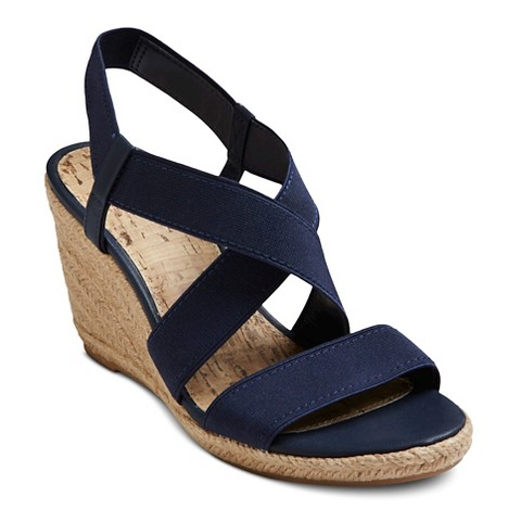 women s earline wedge sandals target