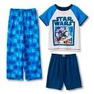 Star Wars Boys' 3-Piece Pajama Set
