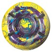 """Transparent Circuit Round Snow Tube - 48"""" Inflated"""