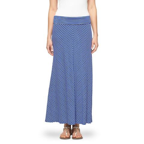 s striped maxi skirt merona 174