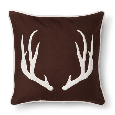homthreads™ Cody Antler Decorative Pillow - Brown