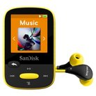 SanDisk Flash Mp3 Player 4GB - Yellow (SDMX24004Y)