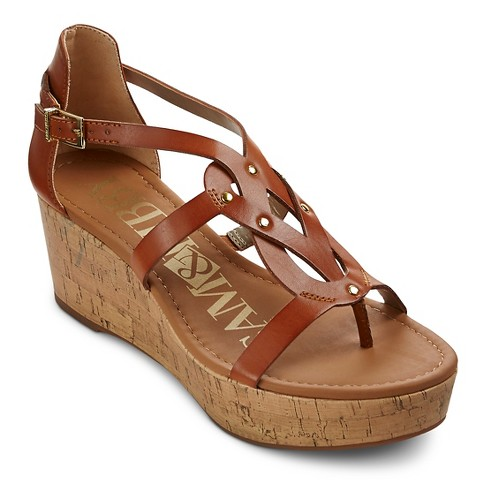 Unique Womens Gladiator Style Wedge Sandals  Peacocks