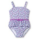 Just One You™ Made by Carter's&#174 Toddler Girls' One Piece Flowery Swimsuit