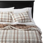 Cody Sherpa Plaid Quilt Set