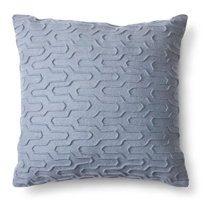 Room Essentials Decorative Pillow Grey Texture