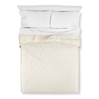 Vermicelli Quilt King White - Fieldcrest Luxury®