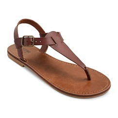 Women's Lady Flat Sandals - Cognac 8