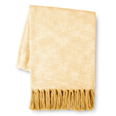 Threshold™ Textural Throw - Yellow