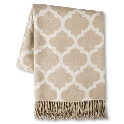 Threshold™ Lattice Throw - Tan