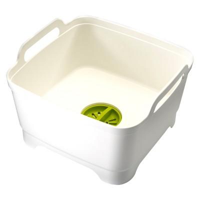 Joseph Joseph Wash&Drain™ Dish Tub - White