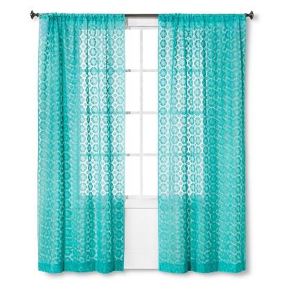 Xhilaration Crochet Curtain Panel