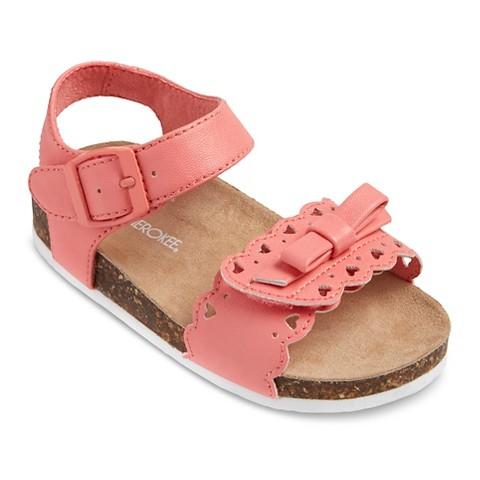 4f970e97af20 Toddler Girl s Cherokee® Keena Sandals - Hot...   Target