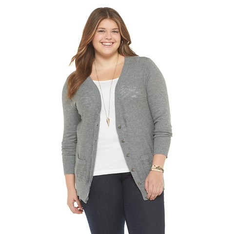 Grey Boyfriend Cardigan Plus Size - Gray Cardigan Sweater