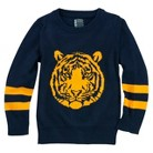 Toddler Boys' Tiger Pullover Sweater
