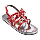 Toddler Girl's Minnie Sandals - Red