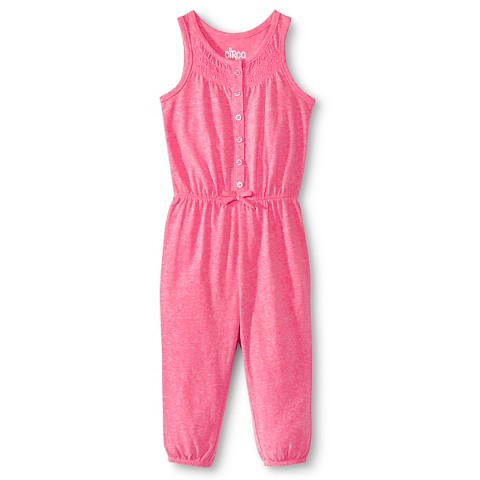 2020b5ab6eaf Toddler Girls Smocked Pant Romper - Sunglow Pink Target