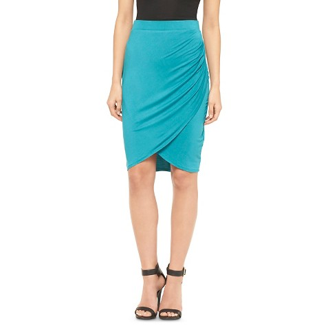 s ruched pencil skirt mossimo