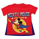 Disney® Mickey Mouse Infant Toddler Boys' Short Sleeve Cape Tee - Red