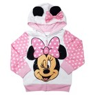 Disney® Minnie Mouse Infant Toddler Girls' Zip Up Hoodie