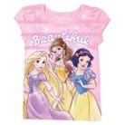 Disney® Princesses Toddler Girls' Short Sleeve Tee - Pink