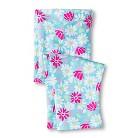 Toddler Girls' Floral Capri Legging - Turquoise