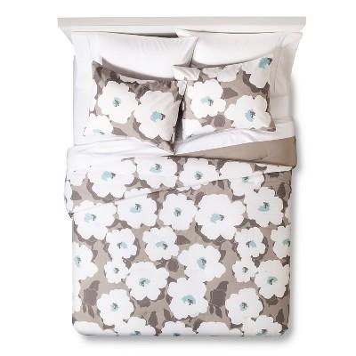 Comforter Set Room Essentials KING Earth Gray
