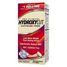 Hydroxycut Pro Clinical Caffeine Free - 72 Count