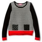 Girls' Striped Tunic Sweater