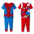 Toddler Boys' 4-Piece Spider-Man Mix & Match Pajama Set