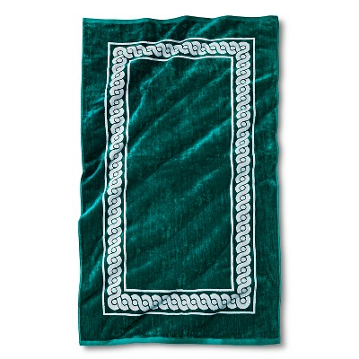 Morocco Rope Sheared Beach Towel - Turquoise - Fieldcrest™
