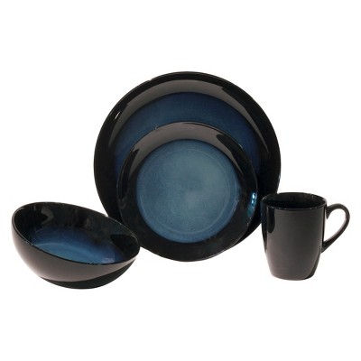 Baum Bros. Evening Tide 16 Piece Dinneware Set