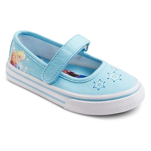 disney 174 toddler s frozen canvas shoes blue