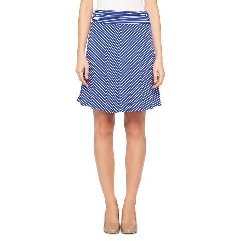 s striped skirt merona