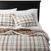 homthreads™ Cody Sherpa Plaid Quilt Set