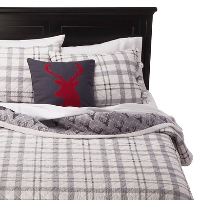 homthreads Cody Sherpa Plaid Bedding Collection