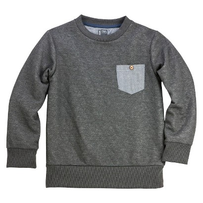 Boys' Quilted Sweatshirt