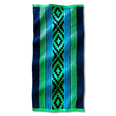 Beach Towel XL Pura Tribal Navy