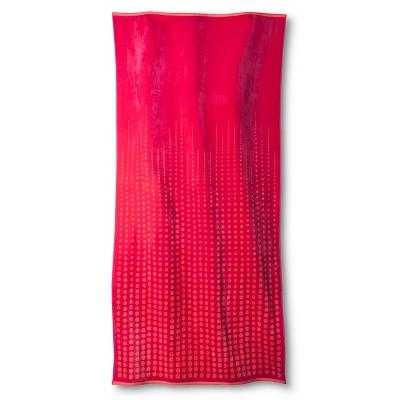 Ombre Dot XL Beach Towel  - Pink