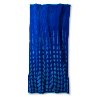 Ombre Dot XL Beach Towel  - Blue